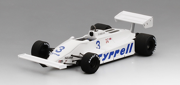TSM 154361 TYRRELL 011 #3 E. CHEEVER GP GERMANY 1981 TRUE SCALE