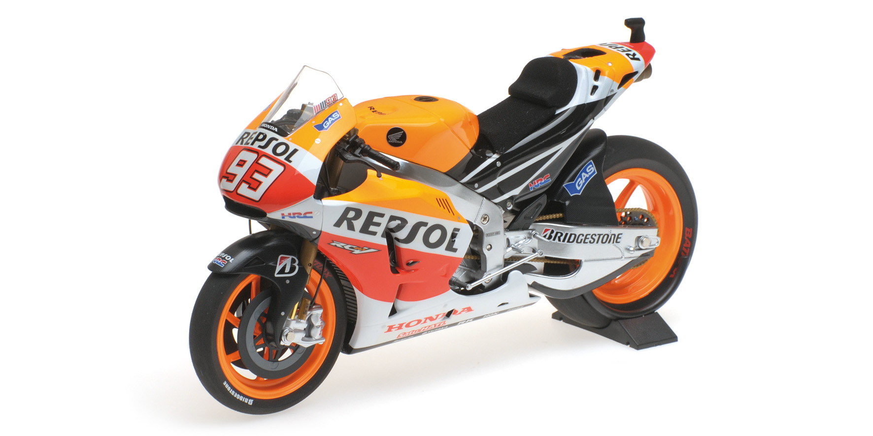 HONDA RC213V MARC MARQUEZ WORLD CHAMPION MOTOGP 2014 Minichamps 122141193