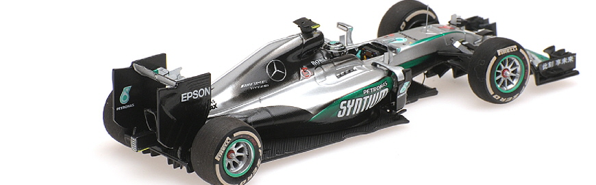 417 160206 MERCEDES NICO ROSBERG WORLD CHAMPION 2016 MINICHAMPS