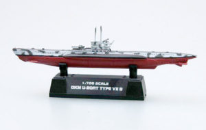 TR 37312 GERMAN U-BOOT TYPE VIIB TRUMPETER