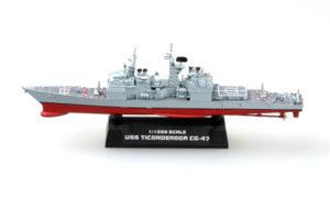 TR 37401 USS CG-47 TICONDEROGA CRUISER TRUMPETER