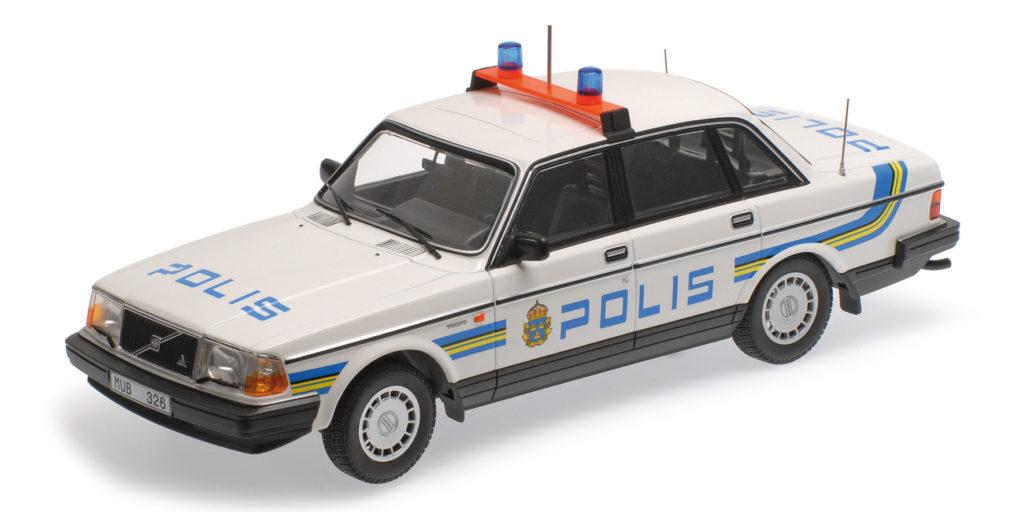 155 171490 VOLVO 240 GL 1986 POLIS SWEDEN MINICHAMPS