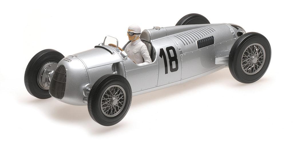 155 361018 AUTO UNION TYP C BERNARD ROSEMEYER WINNER INTERNATIONALES EIFELRENNEN 1936 MINICHAMPS