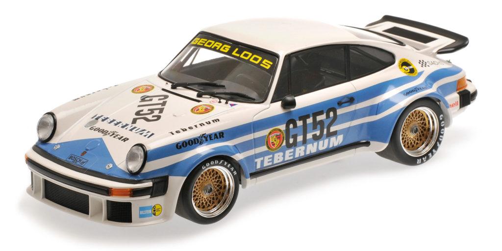 155 766452 PORSCHE 934 TEBERNUM RACING TEAM TIM SCHENKEN 300 KM NURBURGRING 1976 MINICHAMPS