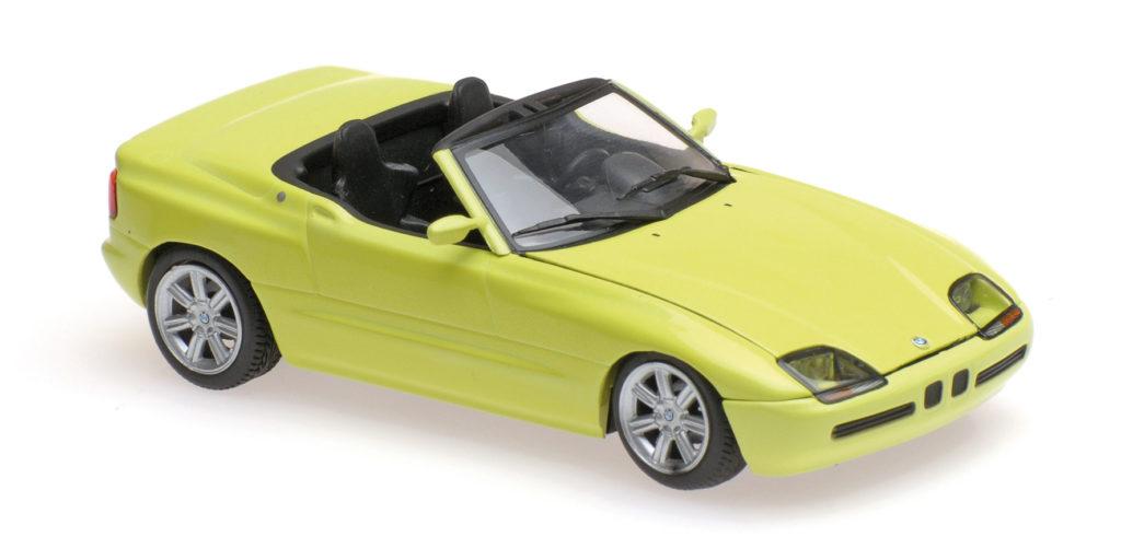 940 020100 BMW Z1 E30 YELLOW 1991 MINICHAMPS
