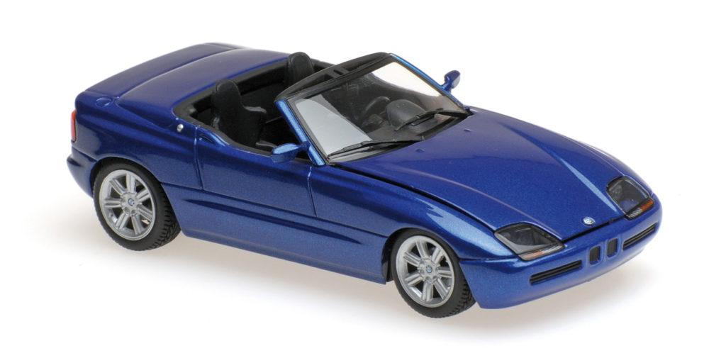 940 020101 BMW Z1 E30 BLUE METALLIC 1991 MINICHAMPS