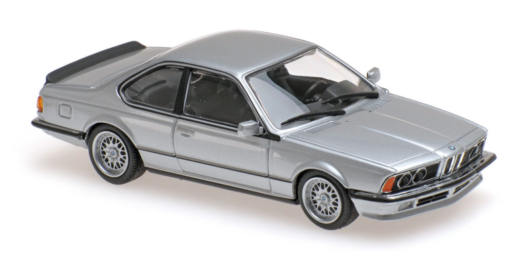 940 025120 BMW 635 CSI E24 SILVER METALLIC 1982 MINICHAMPS