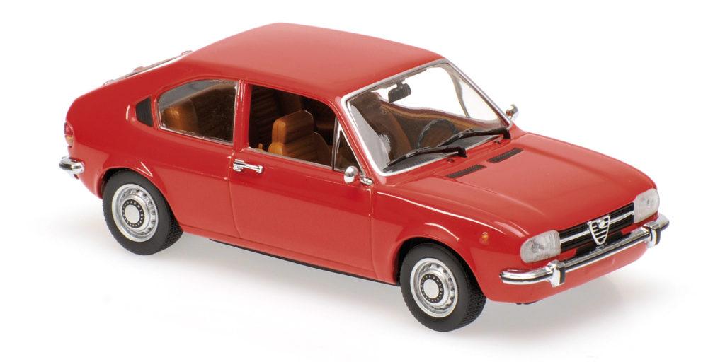 940 120100 ALFA ROMEO ALFASUD 1972 RED MINICHAMPS
