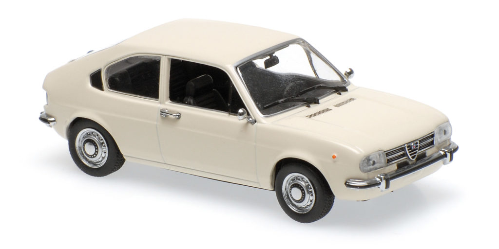 940 120101 ALFA ROMEO ALFASUD 1972 WHITE MINICHAMPS