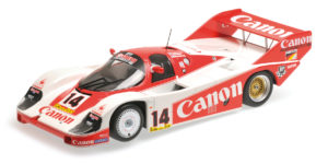 155 836614 PORSCHE 956K CANON RACING ROSBERG LAMMERS 3RD PLACE 1000KM NURBURGRING 1983 MINICHAMPS