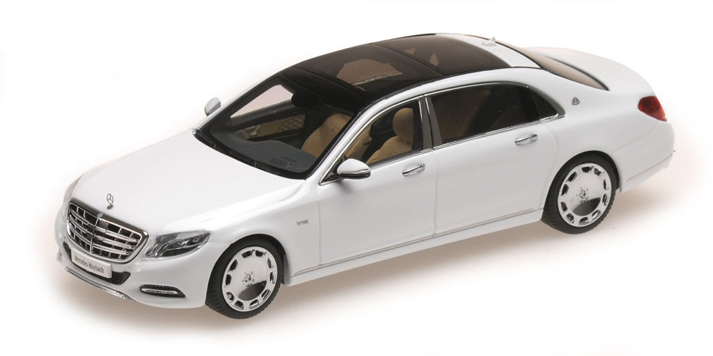 ALM 420103 MERCEDES BENZ S CLASS MAYBACH 2016 WHITE ALMOST REAL