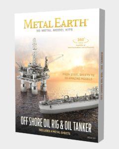 FA MMG105 offshore-oil-rig-oil-tanker-gift-set