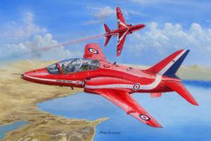 HB 81738 RAF Red Arrows Hawk T MK.1-1A HOBBYBOSS