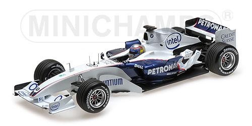 100 060904 SAUBER BMW C24B ALESSANDRO ZANARDI VALENCIA 2006 MINICHAMPS