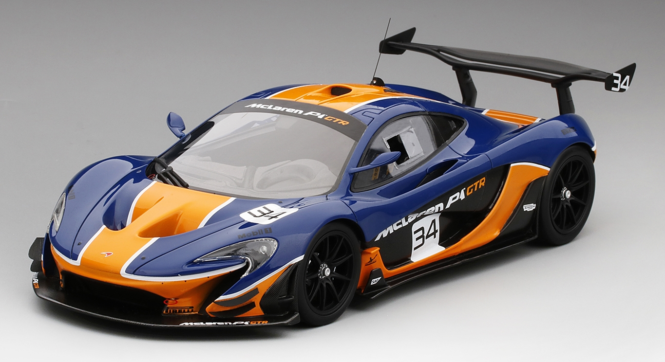 McLAREN P1 GTR GULF COLORS BLUE U0026 ORANGE