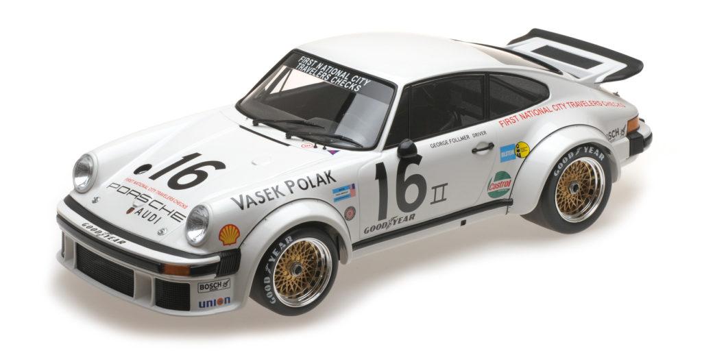 125 766416 PORSCHE 934 VASEK POLAK RACING GEORGE FOLLMER TRANS-AM CHAMPION 1976 MINICHAMPS