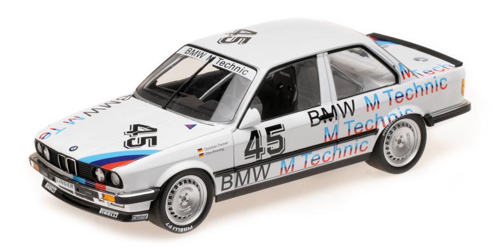 155 862645 BMW 325I LINDER RENNSPORT DANNER RENSING ETCC 1986 MINICHAMPS