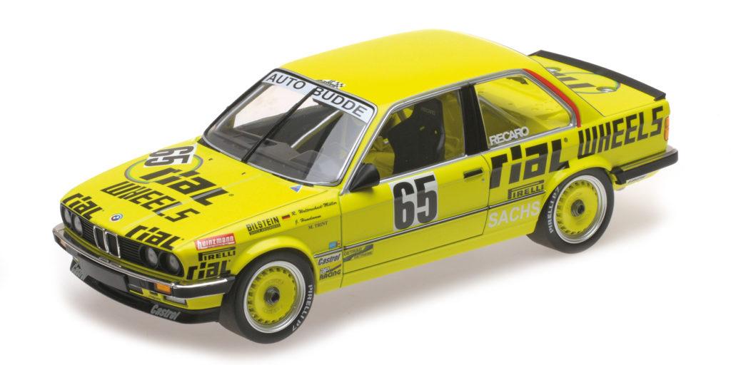 155 862665 BMW 325I AUTO BUDDE TEAM HAMMELMANN MULLER TRINT 24H NURBURGRING 1986 MINICHAMPS