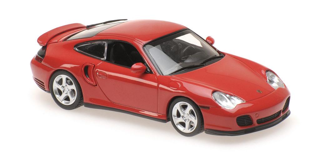 940 069300 PORSCHE 911 TURBO 996 RED 1999 MINICHAMPS