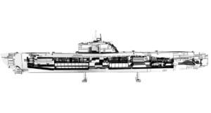 FA MMS121 german-u-boat-type-xxi