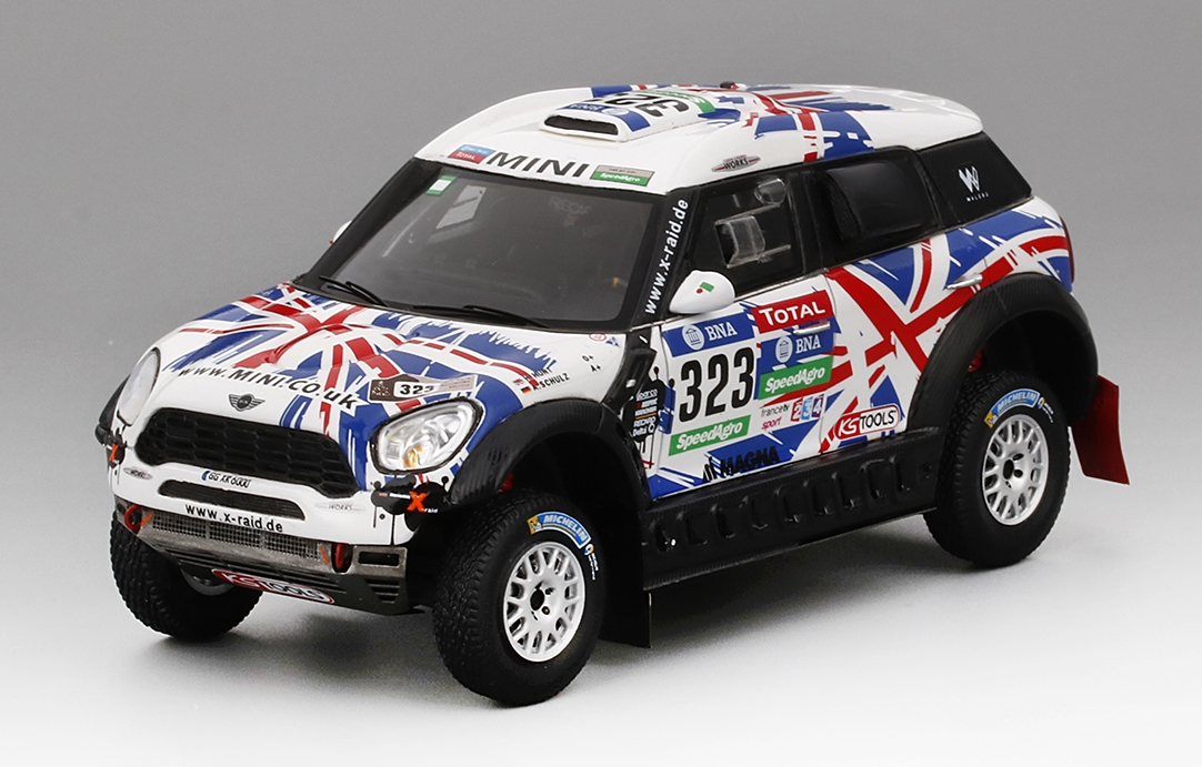 MINI ALL4 RACING N323 DAKAR RALLY 2016 TSM Model True Scale Miniatures TSM430238