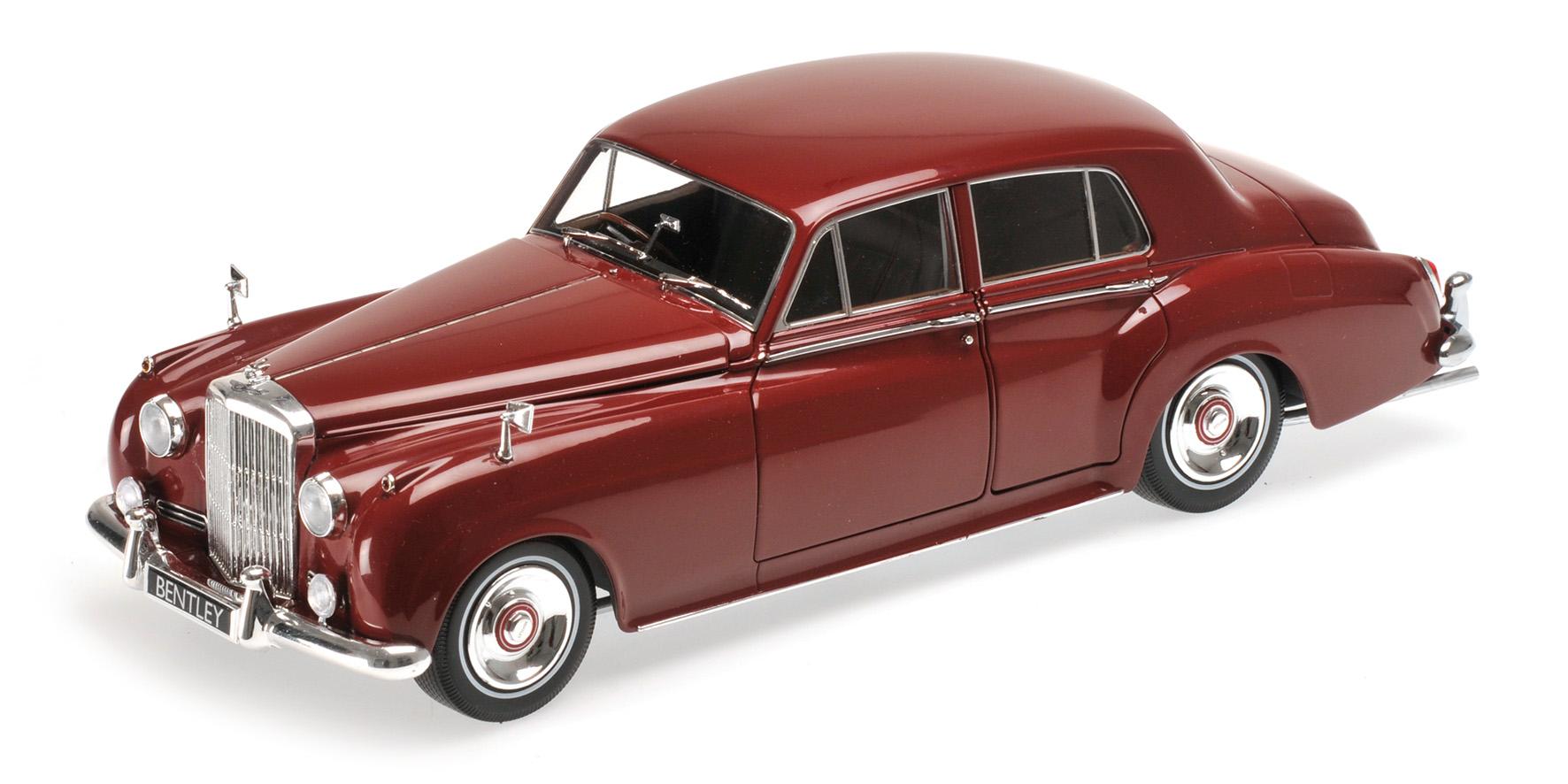 BENTLEY S2 1960 rouge Minichamps 100139955