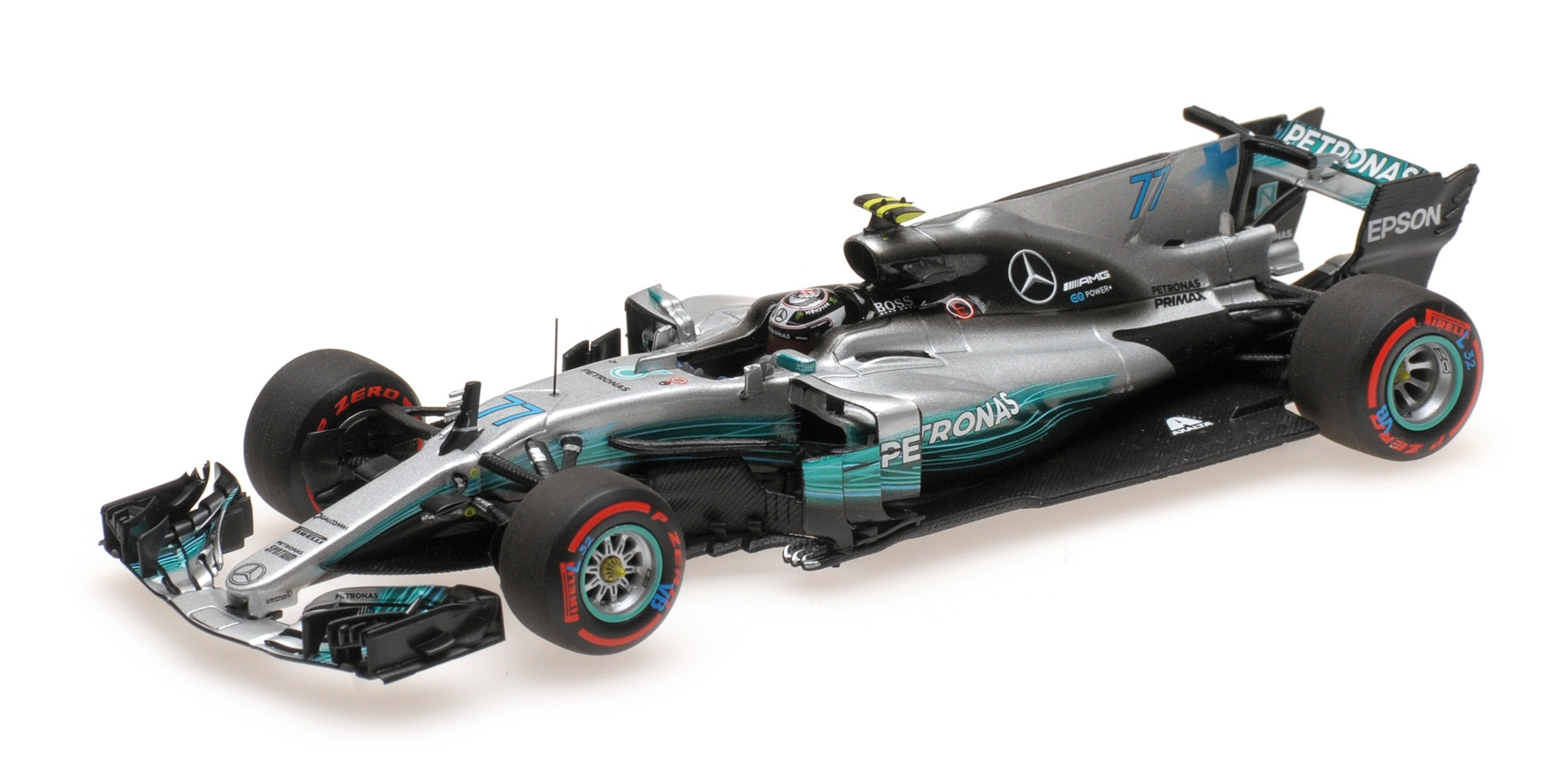 MERCEDES MERCEDES MERCEDES W08 VALTTERI BOTTAS 2ND MEXICAN GP 2017 Minichamps 410171877 bb864b
