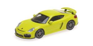 870 066122 PORSCHE CAYMAN GT4 2016 GREEN MINICHAMPS