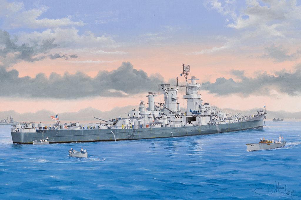 HB 86514 USS GUAM CB-2 HOBBY BOSS