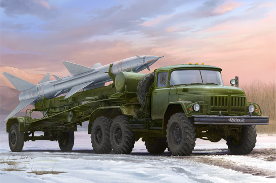 TR 01033 RUSSIAN ZIL-131V TOWED PR-11 SA-2 GUIDELINE TRUMPETER