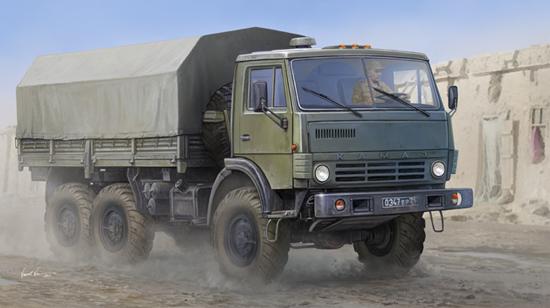 TR 01034 RUSSIAN KAMAZ-4310 TRUCK TRUMPETER