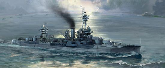 TR 06711 USS NEW YORK BB-34 TRUMPETER