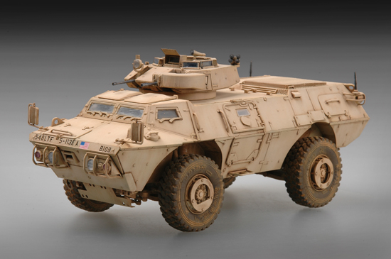 TR 07131 M1117 GUARDIAN ARMORED SECURITY VEHICLE ASV TRUMPETER
