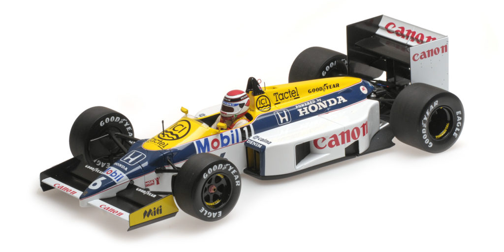 117 860006 WILLIAMS HONDA FW11 NELSON PIQUET 1986 MINICHAMPS
