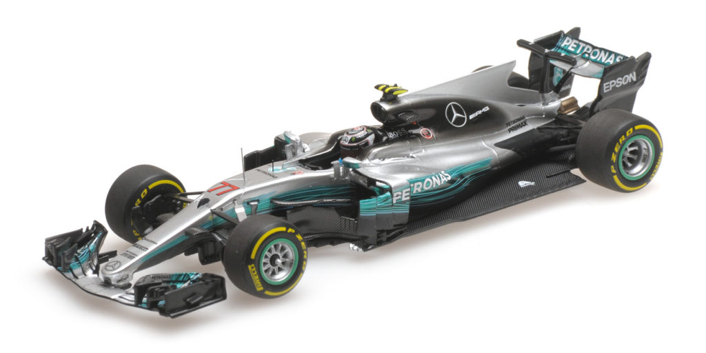 417 170277 MERCEDES W08 VALTTERI BOTTAS CHINESE GP 2017 MINICHAMPS