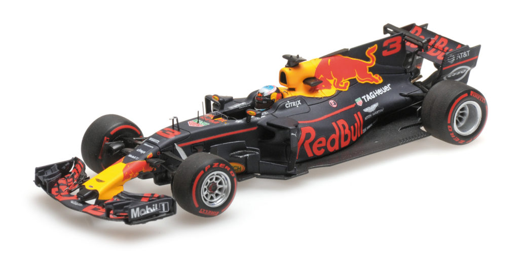 417 170803 RED BULL RB13 DANIEL RICCIARDO WINNER AZERBAIJAN GP 2017 MINICHAMPS