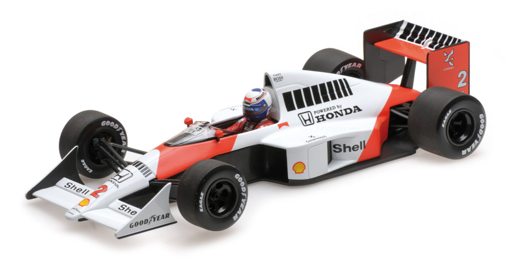 530 891802 MCLAREN MP4-5 ALAIN PROST WORLD CHAMPION 1989 MINICHAMPS