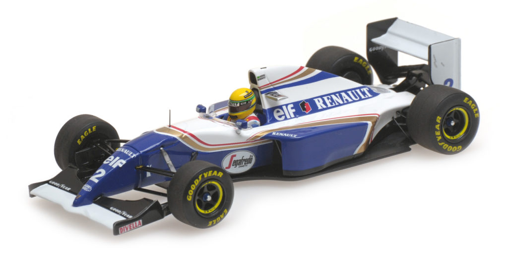 547 940302 WILLIAMS RENAULT FW16 AYRTON SENNA SAN MARINO GP 1994 MINICHAMPS