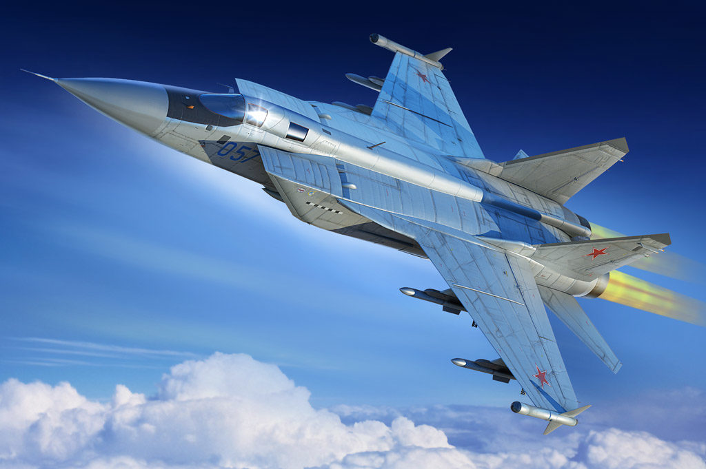 HB 81755 RUSSIAN MIG-31M FOXHOUND HOBBY BOSS