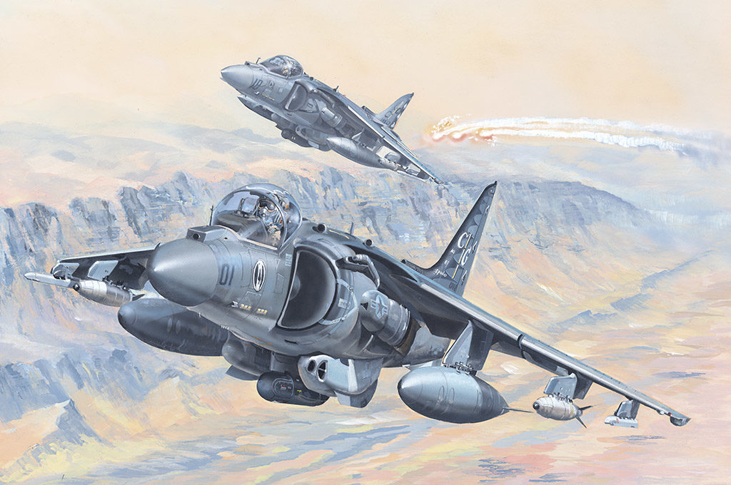 HB 81804 AV-8B HARRIER II HOBBY BOSS