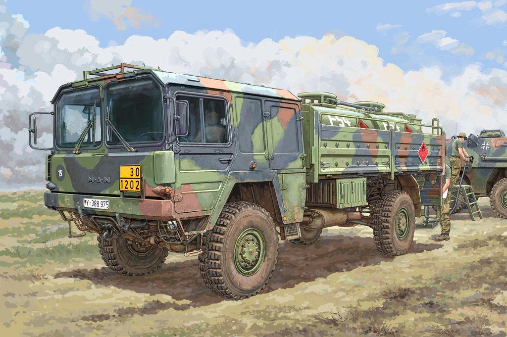 HB 85508 LKW 5T MIL GLW HOBBY BOSS