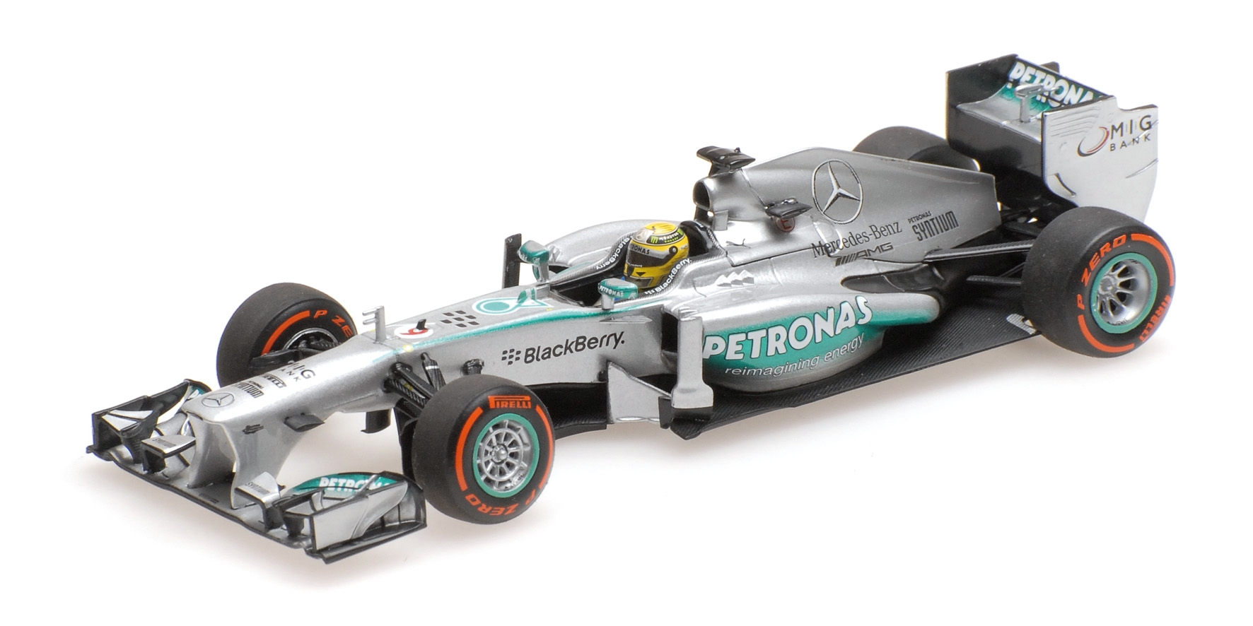 MERCEDES AMG F1 TEAM W04 NICO ROSBERG USA GP 2013 Minichamps 410130209