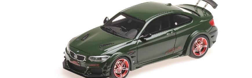 437026020 BMW AC SCHNITZER L2 GREEN 2016 MINICHAMPS