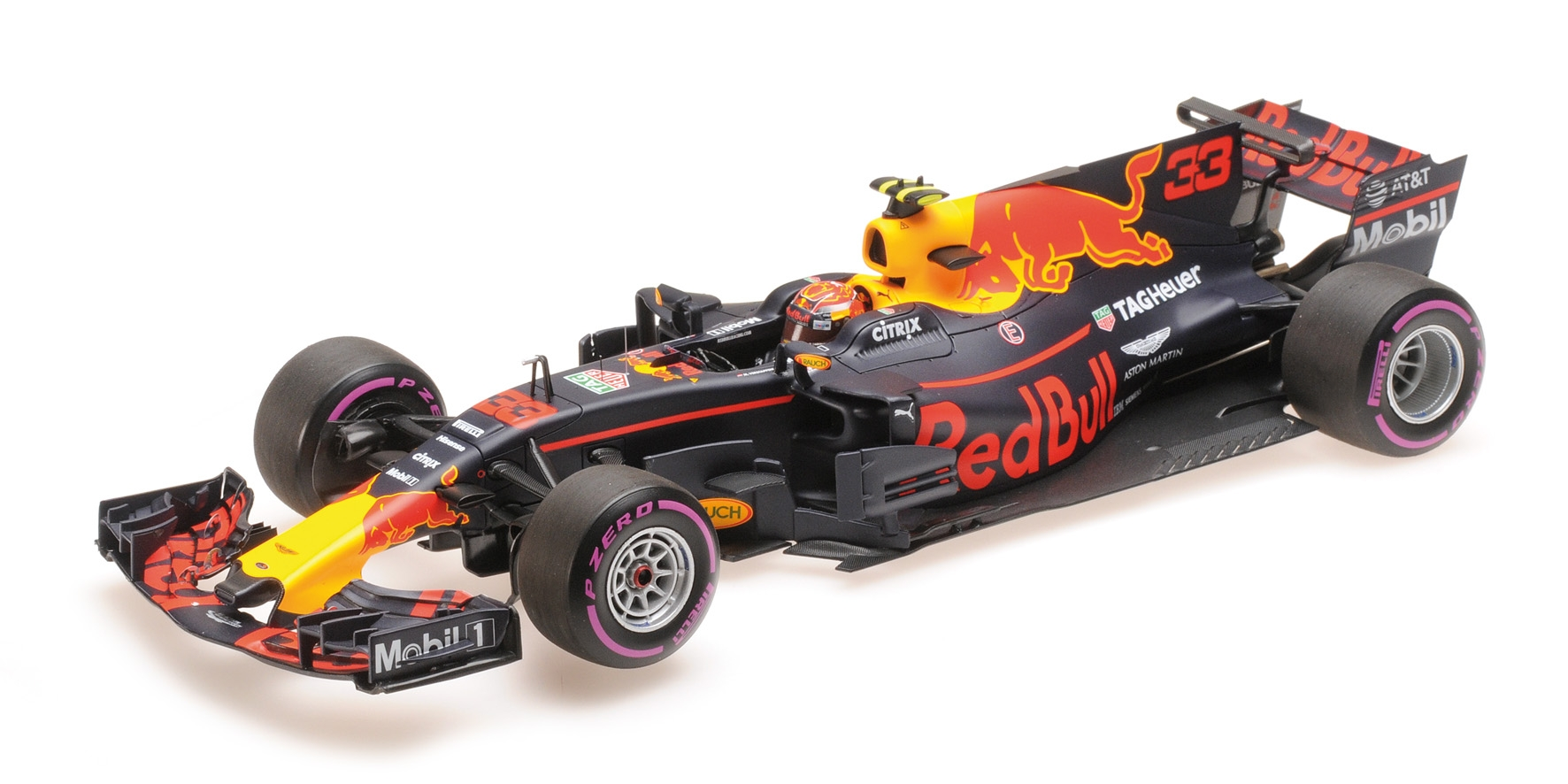 rouge BULL TAG HEUER RB13 MAX VERSTAPPEN MEXICAN GP 2017 Minichamps 117171833