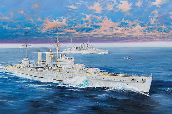 HMS EXETER Trumpeter Kit TR 05350