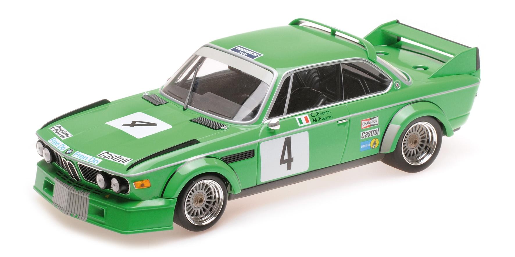 BMW 3.0 CSL JOLLY CLUB MILANO FINOTTO FACETTI WINNER ETCC ZANDVOORT 1979 Minicha