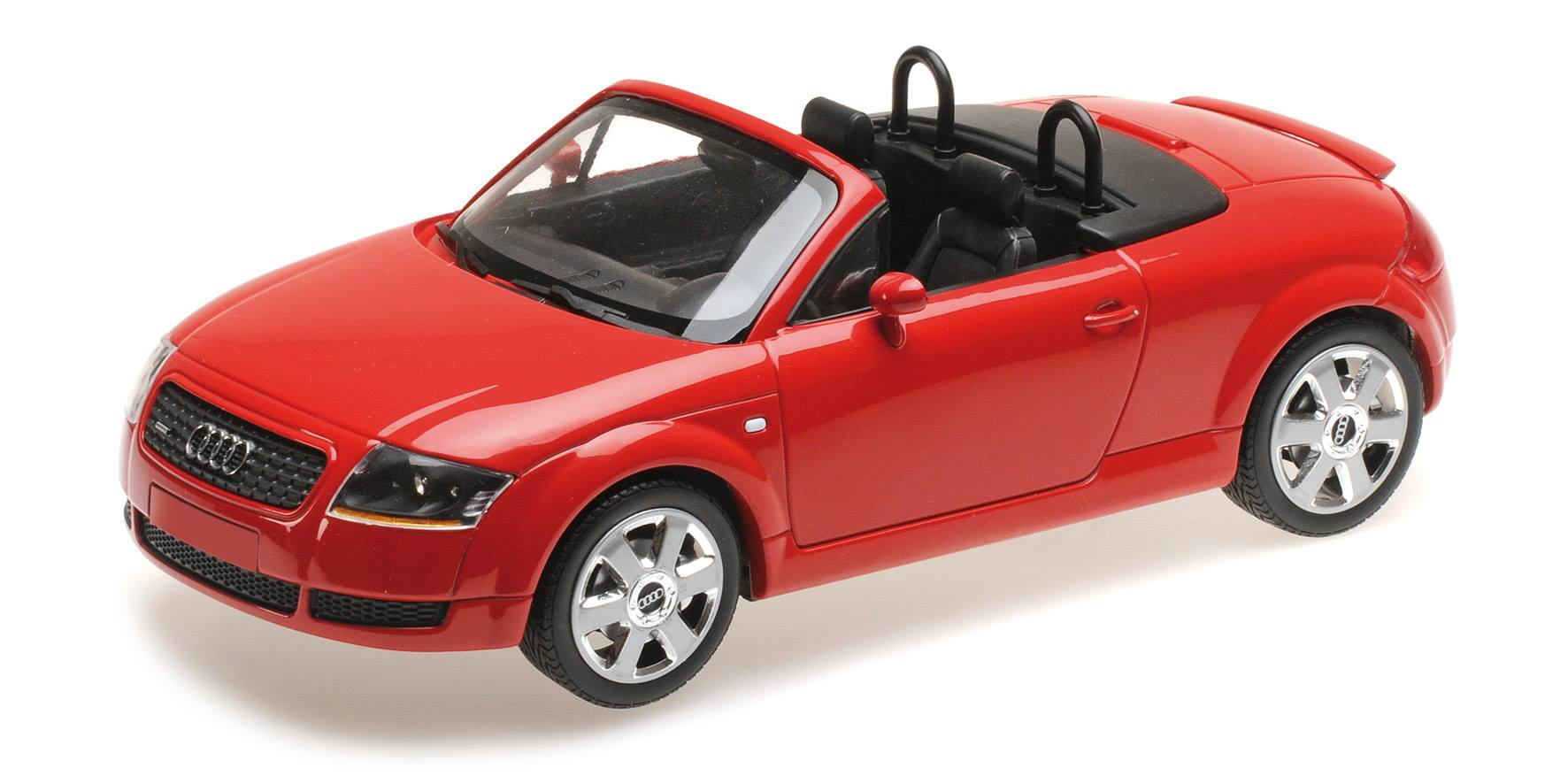 Audi Tt Roadster 1998 Red Minichamps 155017032 Minichamps