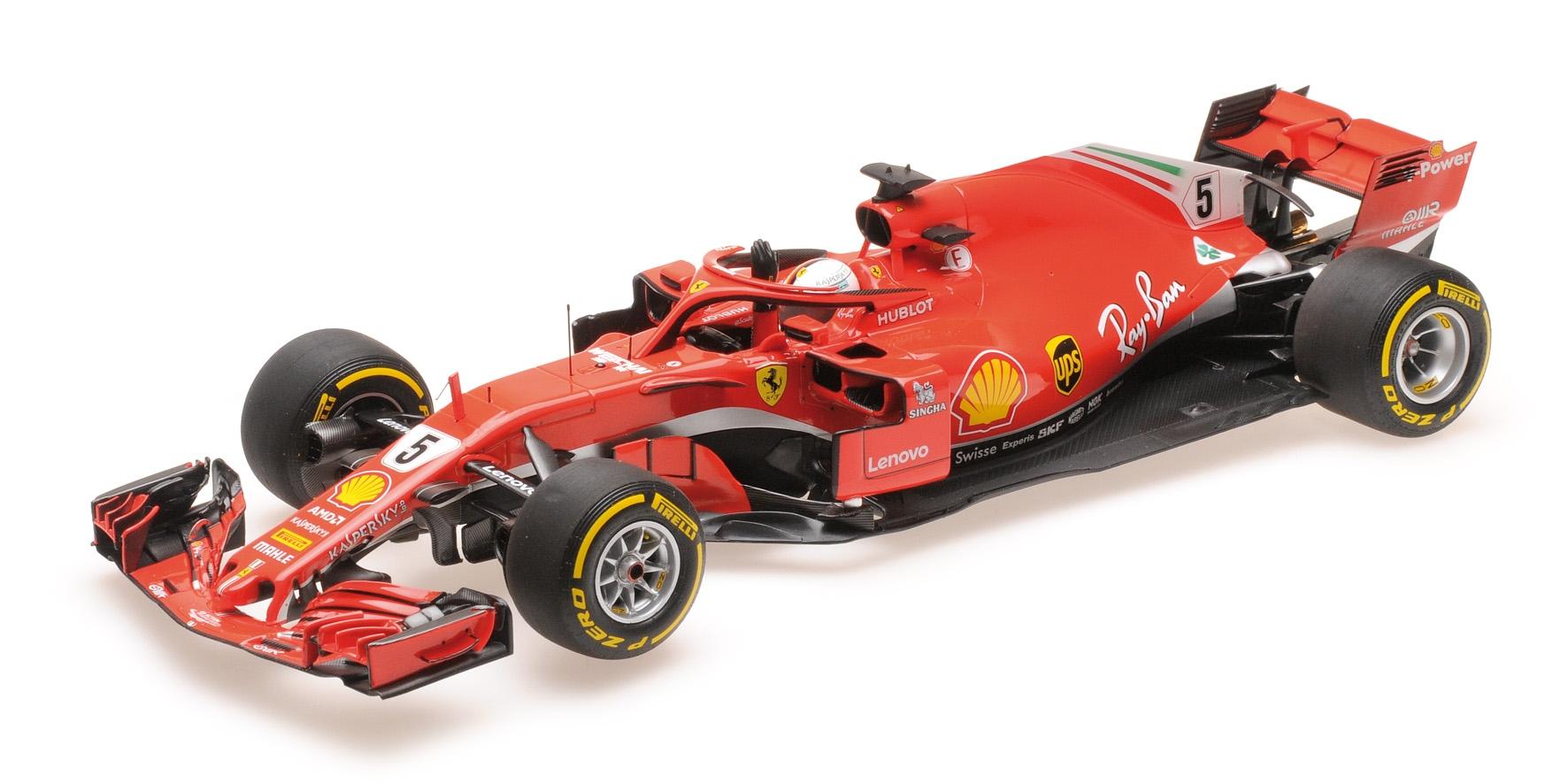 Ferrari Sf71-h Scuderia Sebastian Vettel Vainqueur Gp Australie 2018