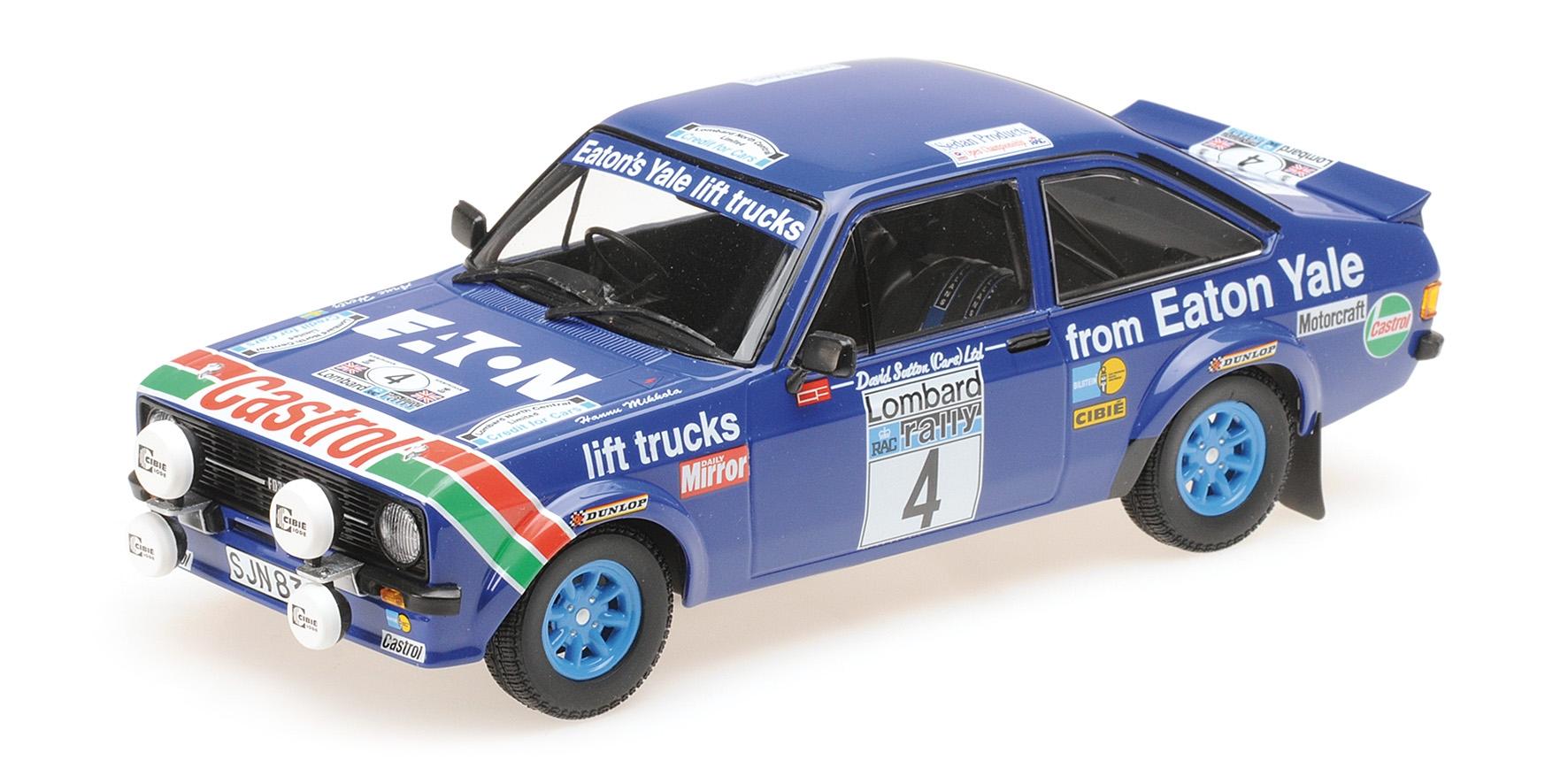 Ford Escort Rs 1800 Castrol Mikkola Hertz Winners Lombard Rac Rally 1978 Minicha