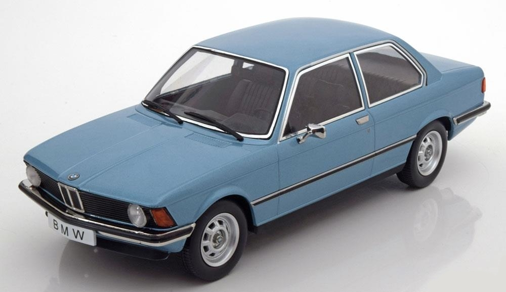 BMW 318i E21 1975 blu METALLIC KK-Scale KKDC180042 KK-Scale